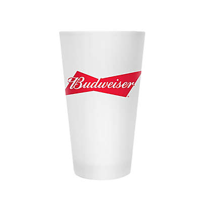 Budweiser™ Bowtie Pint Glasses in Frost (Set of 2)