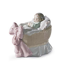 Lladró A New Treasure Girl Figurine