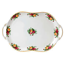 Royal Albert Old Country Roses 19-Inch Handled Serving Platter