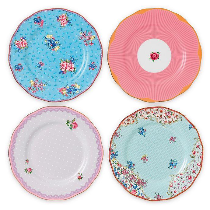 Alternate image 1 for Royal Albert Candy Salad Plates (Set of 4)