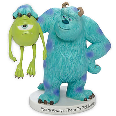 """Precious Moments® Disney® """"You're Always There to Pick Me Up"""" Sully Holding Mike Figurine"""