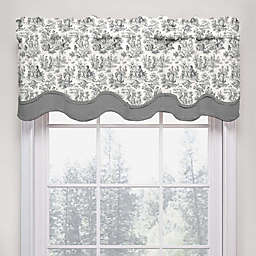 Waverly Charmed Life Scalloped Cotton Valance