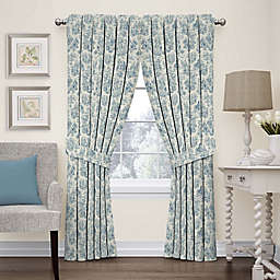 Waverly Charmed Life 63-Inch Rod Pocket Window Curtain Panel in Cornflower (Single)