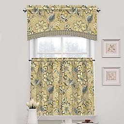 Waverly Brighton Blossom Arch Window Curtain Tier Pair and Valance