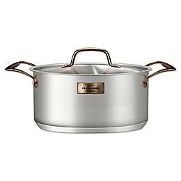 Fleischer & Wolf® London Royalty™ 5-Quart Dutch Oven in Silver
