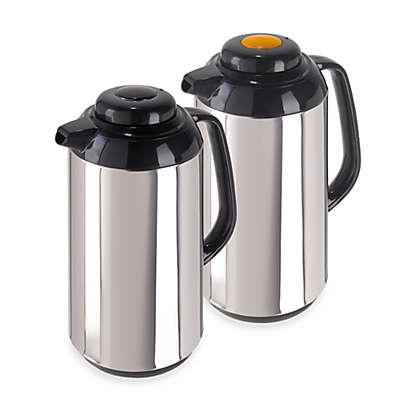Oggi™ Connoisseur™ Push Button Thermal Vacuum Carafes (Set of 2)