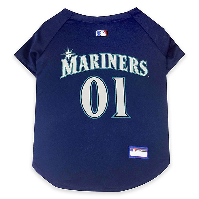 Alternate image 1 for MLB Seattle Mariners Pet Jersey