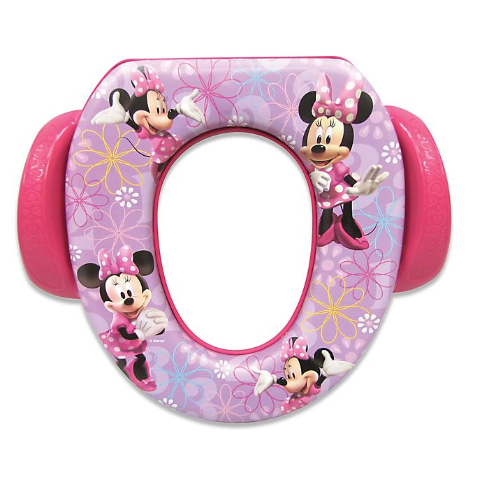 Alternate image 1 for Disney® Soft Potty Trainer Seat in Minnie Mouse
