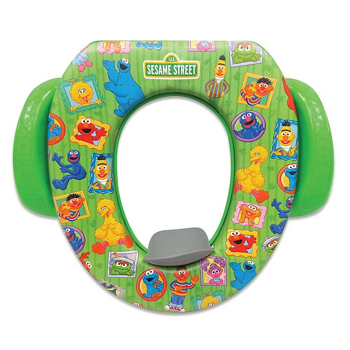 Alternate image 1 for Ginsey Sesame Street Framed Soft Potty Seat