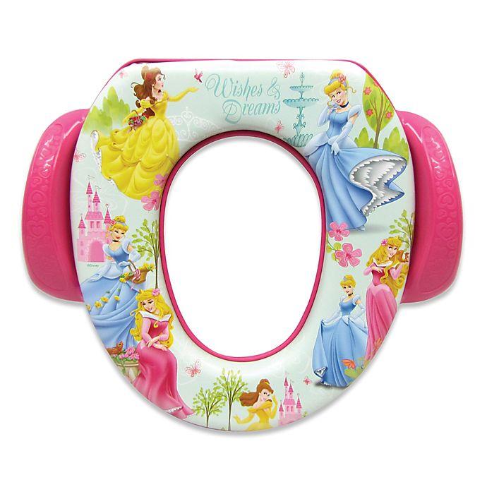 Alternate image 1 for Ginsey Disney® Princesses Soft Potty Seat