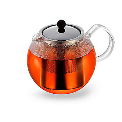 Bodum® 4-Cup Assam Tea Press Pot with Stainless Steel Filter