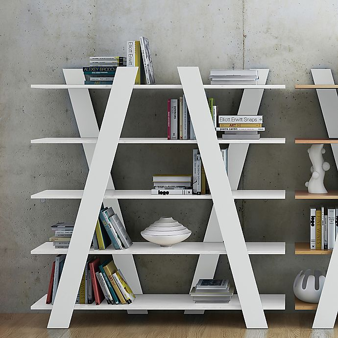 Alternate image 1 for Tema Wind Shelving Unit Bookcase in White