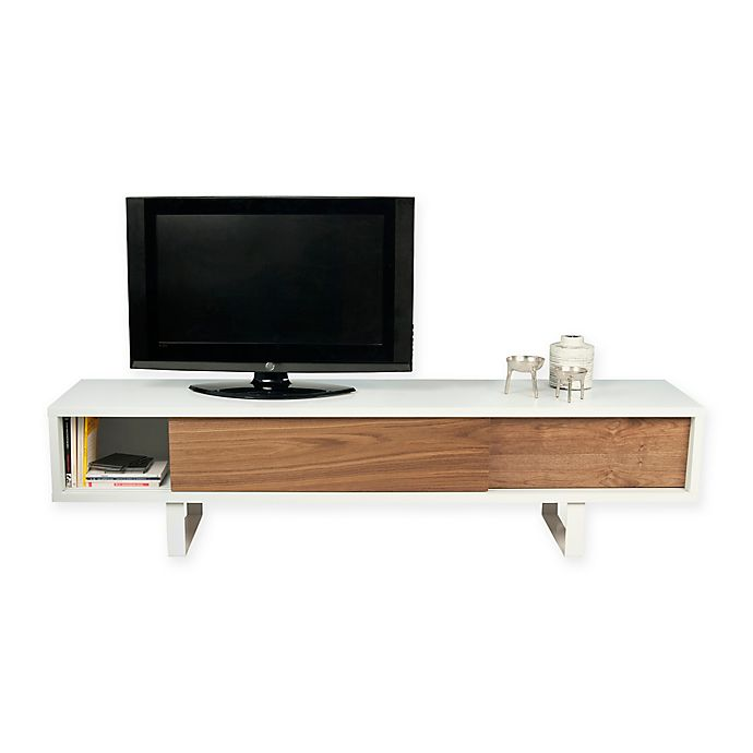 Alternate image 1 for Tema Slide Low TV Stand