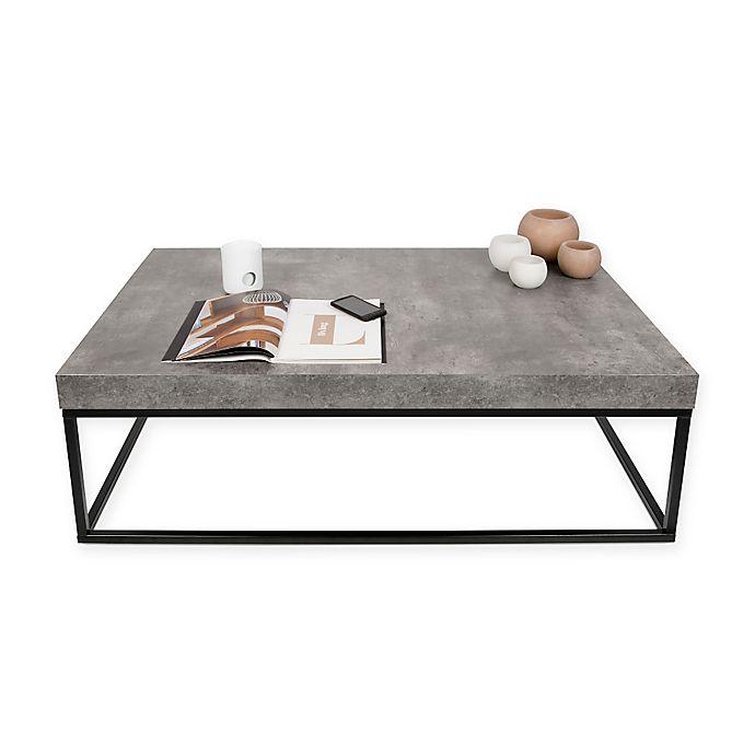 Alternate image 1 for Tema Petra Rectangular Coffee Table