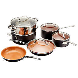 Gotham™ Steel Ti-Cerama™ Nonstick Ceramic 10-Piece Cookware Set