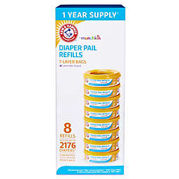 Arm & Hammer™ 8-pack Diaper Pail Refill Rings