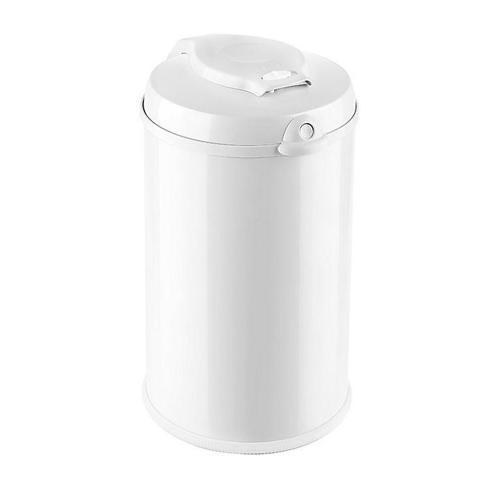 Alternate image 1 for Bubula™ Jr. Steel Diaper Pail in White