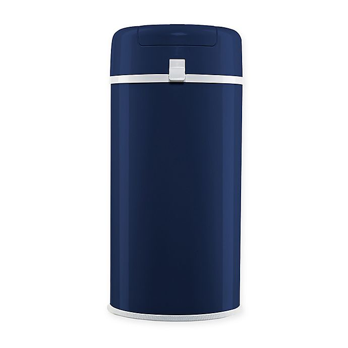 Alternate image 1 for Bubula™ Steel Diaper Pail in Navy