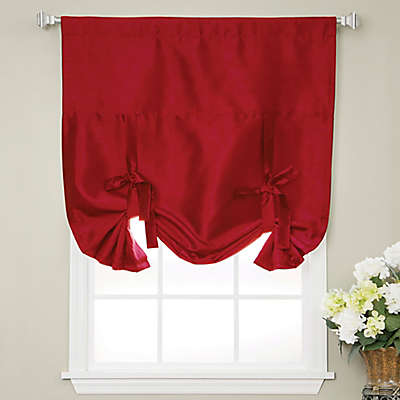 Decorinnovation Solid Faux Silk 63-Inch Length Cordless Blackout Shade