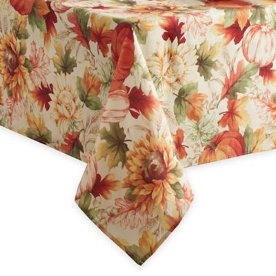 Autumn Sunflower Tablecloth Bed Bath And Beyond Canada
