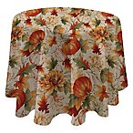 Autumn Sunflower 70-Inch Round Tablecloth