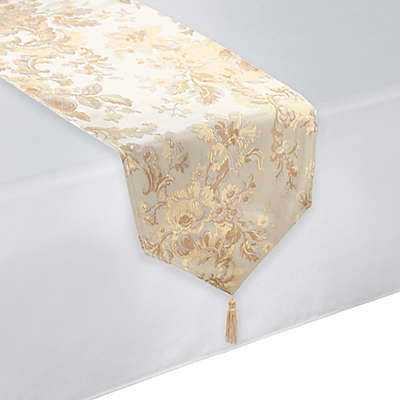 Waterford® Linens Marcelle Table Runner in Ivory