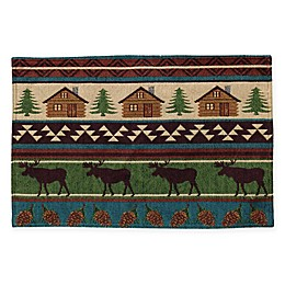 Log Cabin Sebago Placemat