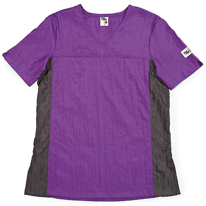 Alternate image 1 for Insect Shield® V-Neck Top in Purple