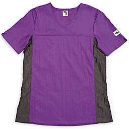 Insect Shield® Size Large V-Neck Top in Purple