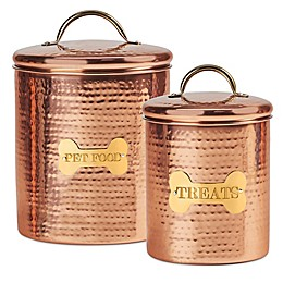 King Charles Copper Dog Canister