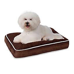 Keegan Napper Pet Bed in Chocolate