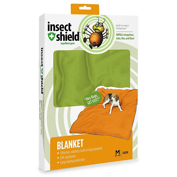 Alternate image 1 for Insect Shield® Medium Blanket in Fern