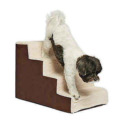 Precious Tails Sherpa Top High Density Foam Pet Steps