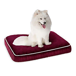 Keegan 20-Inch x 30-Inch Napper Pet Bed in Deep Red
