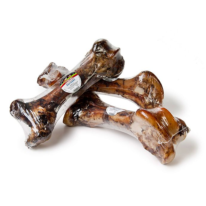 Alternate image 1 for XL Mega Bone 6-Inch Long 100% Natural beef Femur Dog Treat