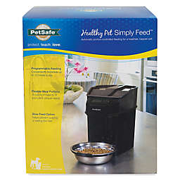 PefSafe® Healthy Pet™ 12-Meal Automatic Feeder in Black