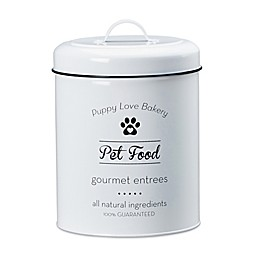 Amici Pet Puppy Love Pet Food Canister