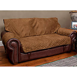 Sta-put™ Full-Coverage Loveseat Protector for Pets in Cocoa