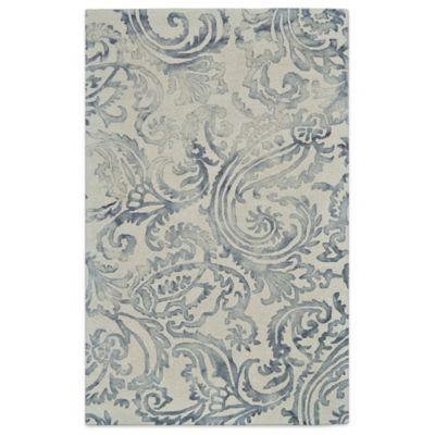 Feizy Billingsley Damask Area Rug In Grey Bed Bath Amp Beyond