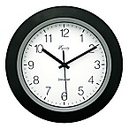 Equity® Insta-Set Analog Wall Clock
