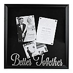 Occasions Clove Shadowbox  Better Together  in Black