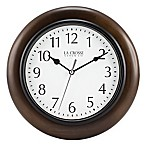 La Crosse Technology® Round Wood Wall Clock