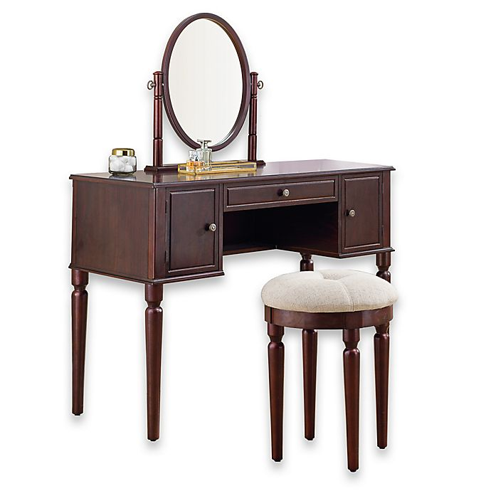 Cool Bella Vanity And Stool Set Bed Bath Beyond Andrewgaddart Wooden Chair Designs For Living Room Andrewgaddartcom