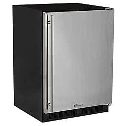 Marvel 24-Inch Stainless Steel Refrigerator