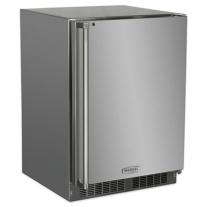 Alternate image 1 for Marvel 24-Inch Outdoor Stainless Steel Refrigerator with Right Hinge
