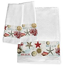 Laural Home® Dream Beach Shells Bath Collection