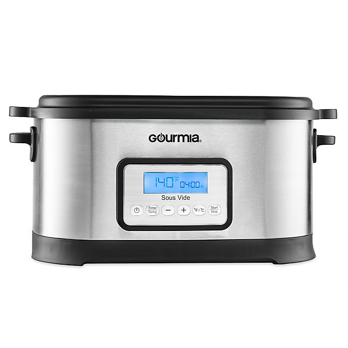 Alternate image 1 for Gourmia® Sous Vide 9 qt. Water Oven with Digital Timer and Rack