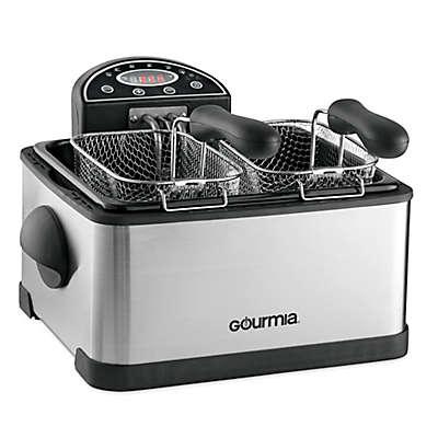 Gourmia® Tri-Basket 4.2 qt. Deep Fryer with Digital Display