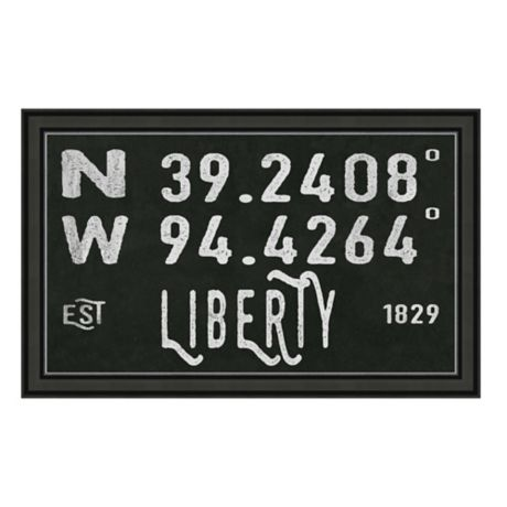 Liberty Missouri Coordinates Framed Wall Art Bed Bath