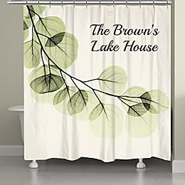 Laural Home® Eucalyptus Shower Curtain